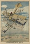 Tragic collision of two airplanes, back cover illustration from 'Le Petit Journal', supplement illustre, 6th July 1913 (colour litho) Postcards, Greetings Cards, Art Prints, Canvas, Framed Pictures & Wall Art by Severino Baraldi