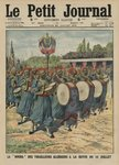 Musical section of the Algerian infantrymen parading at the review of the 14th July, front cover illustration from 'Le Petit Journal', supplement illustre, 20th July 1913 (colour litho) Postcards, Greetings Cards, Art Prints, Canvas, Framed Pictures & Wall Art by French School