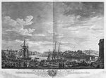 View of the Port of Dieppe, series of 'Les Ports de France', engraved by Charles Nicolas Cochin the Younger (1715-90) and Jacques Philippe Le Bas (1707-83) 1762 (etching & burin) Postcards, Greetings Cards, Art Prints, Canvas, Framed Pictures, T-shirts & Wall Art by Armand de Polignac