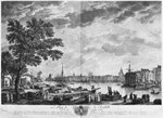 Port of La Rochelle, seen from the small shore, series of 'Les Ports de France', engraved by Charles Nicolas Cochin the Younger (1715-90) and Jacques Philippe Le Bas (1707-83) 1767 (etching & burin) Wall Art & Canvas Prints by German School