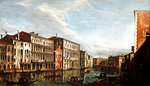 View of Venice (oil on canvas) Wall Art & Canvas Prints by William James