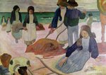 Seaweed Gatherers, 1889 Poster Art Print by Paul Serusier