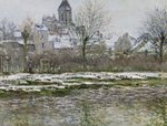 The Church at Vetheuil under Snow, 1878-79 Fine Art Print by Claude Monet