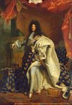 Louis XIV in Royal Costume, 1701 (oil on canvas) Wall Art & Canvas Prints by Allan Ramsay