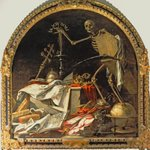 Allegory of Death: In Ictu Oculi Poster Art Print by Hans Holbein The Younger
