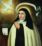 St. Theresa of Avila Fine Art Print by Domenichino