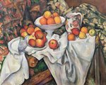 Apples and Oranges, 1895-1900 (oil on canvas) Postcards, Greetings Cards, Art Prints, Canvas, Framed Pictures & Wall Art by Paul Cezanne