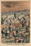 Peasants of the surroundings of Catania fleeing their villages devastated by the earthquake, back cover illustration from 'Le Petit Journal', supplement illustre, 24th May 1914 (colour litho) Postcards, Greetings Cards, Art Prints, Canvas, Framed Pictures & Wall Art by Pieter the Elder Bruegel