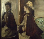 Madame Jeantaud in the mirror, c.1875 Fine Art Print by Pierre-Auguste Renoir