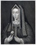 Portrait of Elizabeth of York (engraving)