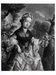 Elizabeth Chudleigh (1720-88) Countess of Bristol and Duchess of Kingston (oil on canvas) (b/w photo) Postcards, Greetings Cards, Art Prints, Canvas, Framed Pictures & Wall Art by English School
