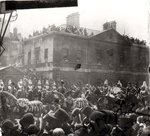 Jubilee Procession in Whitehall, 1887 (b/w photo) Wall Art & Canvas Prints by English School