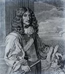 Prince Rupert of the Rhine (engraving) (b/w photo) Postcards, Greetings Cards, Art Prints, Canvas, Framed Pictures & Wall Art by Jean-Marc Nattier