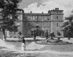 Marlborough House, from the garden, 1863 Fine Art Print by John Buckler