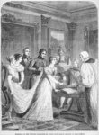 The Marriage of The Princess Charlotte of Wales with Prince Leopold of Saxe-Coburg, 2nd May 1816 Postcards, Greetings Cards, Art Prints, Canvas, Framed Pictures, T-shirts & Wall Art by Henri Gervex