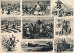 Cotton: its Cultivation and Preparation in America (engraving) Postcards, Greetings Cards, Art Prints, Canvas, Framed Pictures, T-shirts & Wall Art by American Photographer