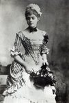 Baroness Mary Vetsera, c.1880s (b/w photo) Fine Art Print by Joris Hoefnagel