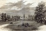 Hatfield House, the Seat of the Marquis of Salisbury, from 'The Illustrated London News', 11th July 1874 (engraving) Fine Art Print by John Buckler