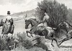 Prince Albert Hunting near Belvoir Castle Fine Art Print by Liu Kuan-tao