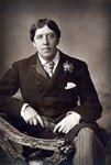 Oscar Wilde, 1889 (carbon print photo) Postcards, Greetings Cards, Art Prints, Canvas, Framed Pictures, T-shirts & Wall Art by English School