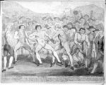 Boxing match between Thomas Futrell and John Jackson, June 9th 1788 (etching) Wall Art & Canvas Prints by Wilf Hardy