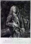 Sir William Johnson, engraved by Charles Spooner, 1756 (mezzotint) Fine Art Print by Samuel Wale
