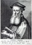 John Bale, Bishop of Ossory, 1620 Fine Art Print by Italian School