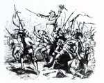 Luddite Rioters, 1811-12 (engraving)
