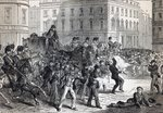 A Belfast Riot (engraving) Wall Art & Canvas Prints by French School