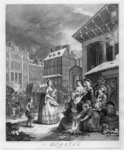 Times of the Day, Morning, 1738 (engraving) Wall Art & Canvas Prints by William Hogarth