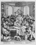 The Reward of Cruelty, 1751 (engraving) Postcards, Greetings Cards, Art Prints, Canvas, Framed Pictures & Wall Art by Clive Uptton