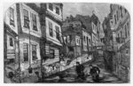 The River Fleet, c.1880's (engraving) Postcards, Greetings Cards, Art Prints, Canvas, Framed Pictures, T-shirts & Wall Art by Timothy Easton