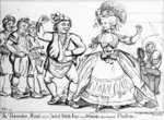 The Devonshire Minuet, danced to Ancient British Music through Westminster during the Election, print made by William Paulet Carey, 1784 (engraving) Wall Art & Canvas Prints by Honore Daumier