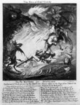 The Fire of Faction, 1762 (engraving) Wall Art & Canvas Prints by John Martin