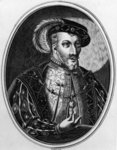James V, 19th century copy after an illustration from Jonston's 'Inscriptiones Historicae Regum Scotorum', first published 1602 (engraving) Wall Art & Canvas Prints by John de Critz