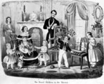 The Royal Children in the Nursery, by T. H. A. E., 1847 (lithograph) Fine Art Print by English School