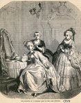 The Boudoir of a Parisian Lady in the Last Century, 1789 (engraving) Postcards, Greetings Cards, Art Prints, Canvas, Framed Pictures & Wall Art by Vilhelm Hammershoi