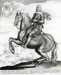 Portrait of Robert Devereux on horseback (engraving) Wall Art & Canvas Prints by Sir Anthony van Dyck