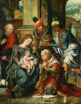 The Adoration of the Magi, 1530 Poster Art Print by Andrea Casali