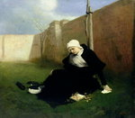 The Nun in the Cloister Garden, 1869 Fine Art Print by Emily Stannard