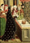 The Presentation in the Temple, from the Dome Altar, 1499 (tempera on panel) Fine Art Print by Absolon Stumme