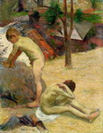 Breton Boys Bathing, 1888 Poster Art Print by Roger Eliot Fry