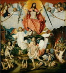 The Last Judgement (oil on panel)