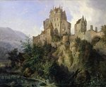 Eltz Castle (oil on canvas) Postcards, Greetings Cards, Art Prints, Canvas, Framed Pictures, T-shirts & Wall Art by Joseph Mallord William Turner
