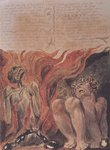 "Book of Urizen; ""from the caverns of his jointed spine', 1794 Fine Art Print by William Blake"