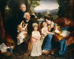 The Copley Family, 1776/77 (oil on canvas) Fine Art Print by Alfred George Stevens