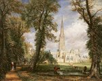 View of Salisbury Cathedral from the Bishop's Grounds, c.1822 (oil on canvas) Postcards, Greetings Cards, Art Prints, Canvas, Framed Pictures, T-shirts & Wall Art by Joseph Mallord William Turner