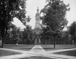 Nassau Hall, Princeton University, N.J., c.1903 (b/w photo) Fine Art Print by Julien Jacottet