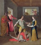 The Beheading of St. John the Baptist Fine Art Print by Sano di, also Ansano di Pietro di Mencio Pietro