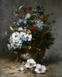 Daisies and Cornflowers Fine Art Print by Samuel John Peploe